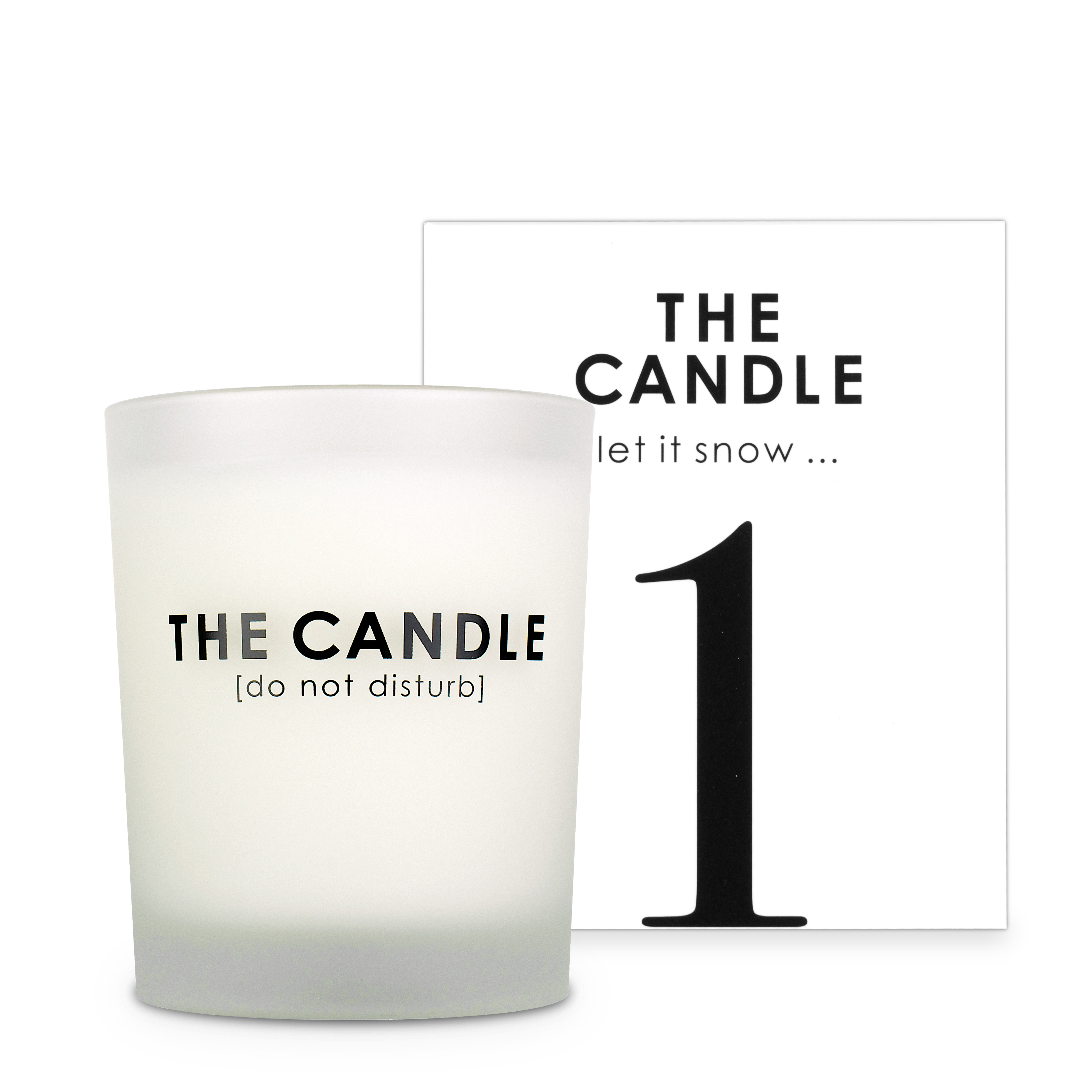 The Candle let it snow
